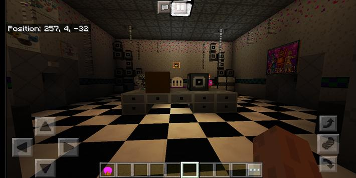 Welcome at Freddy's. Map for MCPE screenshot 8