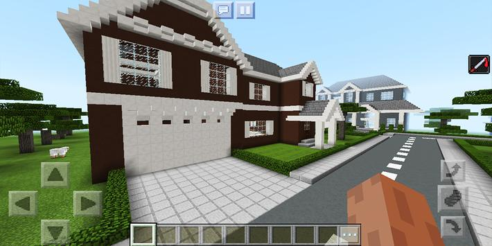 School and Neighborhood. Map for MCPE screenshot 14