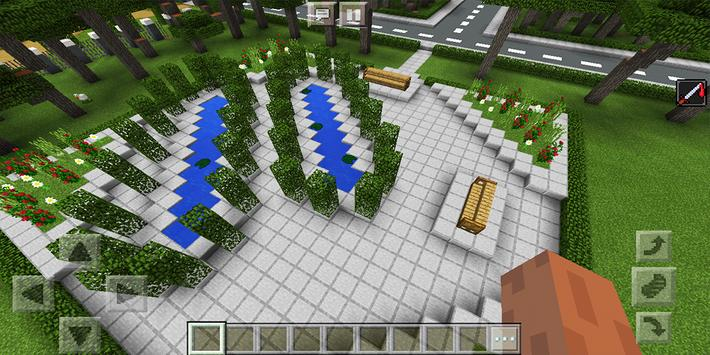 School and Neighborhood. Map for MCPE screenshot 11