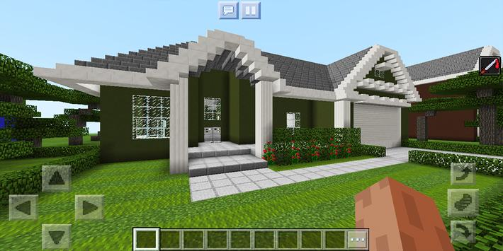 School and Neighborhood. Map for MCPE screenshot 5