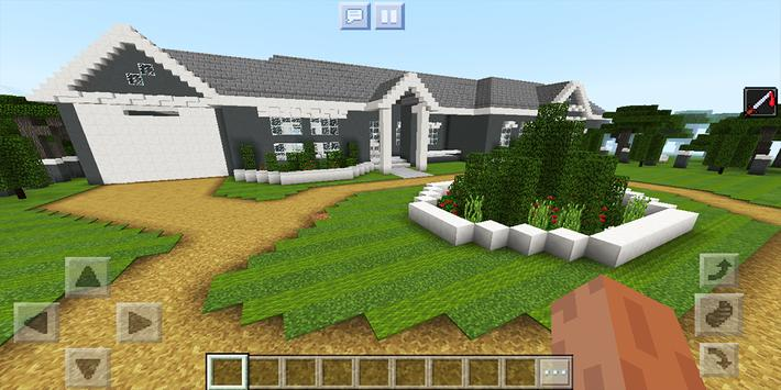 School and Neighborhood. Map for MCPE screenshot 7