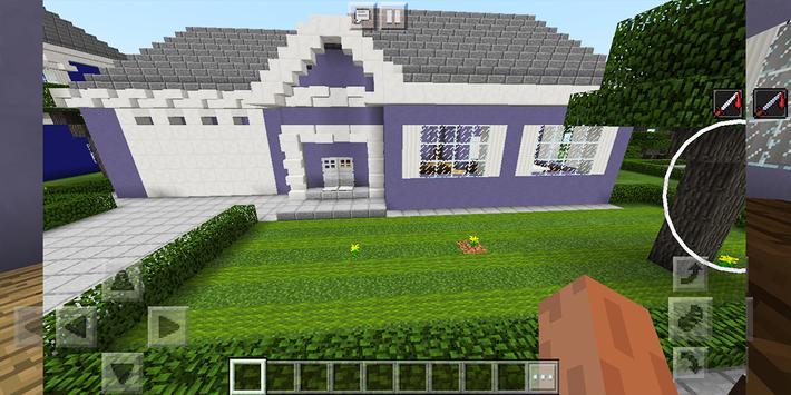 School and Neighborhood. Map for MCPE screenshot 8