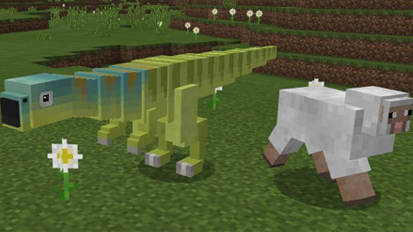 Mcpe Jurassic Craft Mod