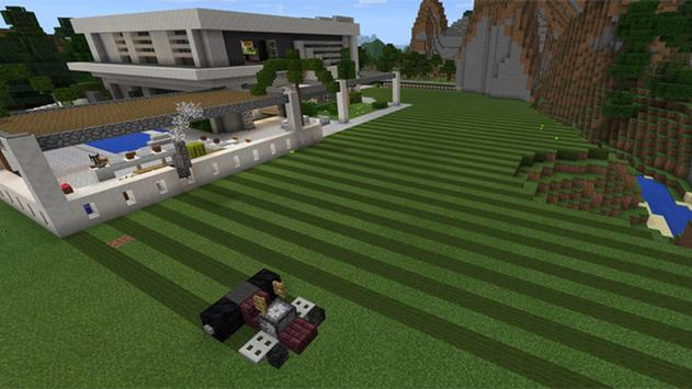 Mansion House Map for MCPE poster