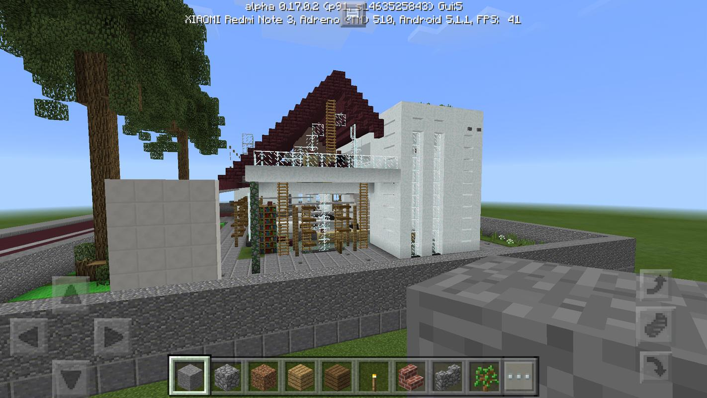 Modern house mcpe map apk download free entertainment for Modern house mcpe 0 14 0
