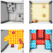 The White MCPE Parkour Map icon