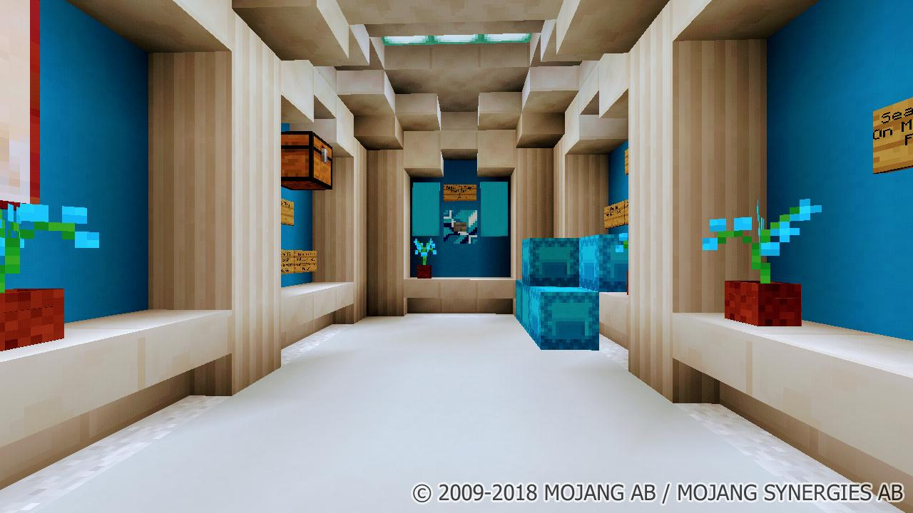 Room On Mcpe Map Pour Android