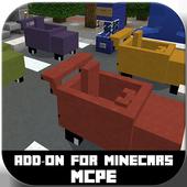 Mine Cars Mod / Addon for MCPE icon