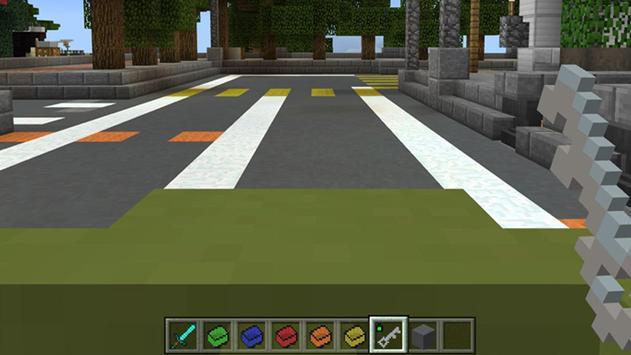 Mine Cars Mod / Addon for MCPE apk screenshot