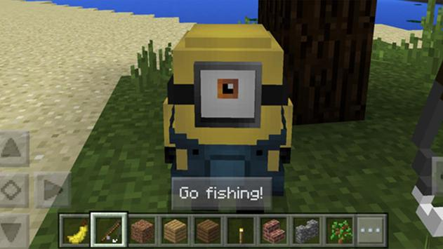 Minion mods for minecraft pe apk minion mods for for How to fish in minecraft pe