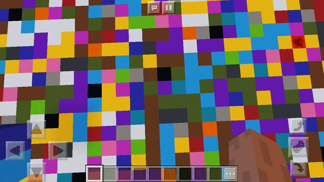 New Colorful Block Party. Map for MCPE screenshot 10