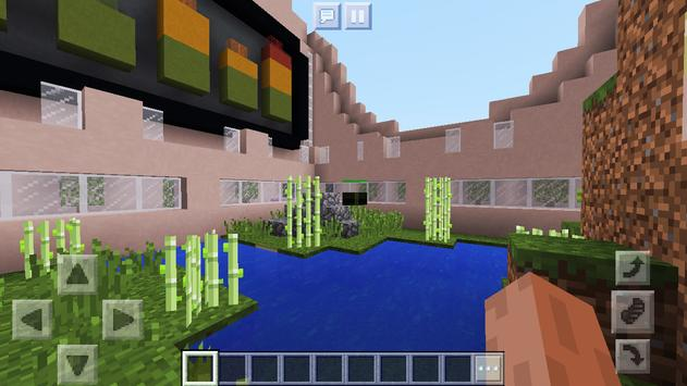 New Colorful Block Party. Map for MCPE screenshot 3