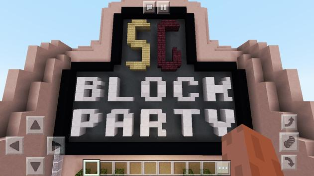 New Colorful Block Party. Map for MCPE screenshot 5