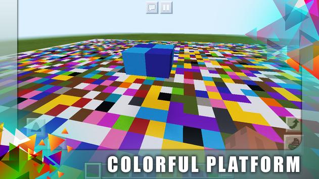 New Colorful Block Party. Map for MCPE screenshot 7
