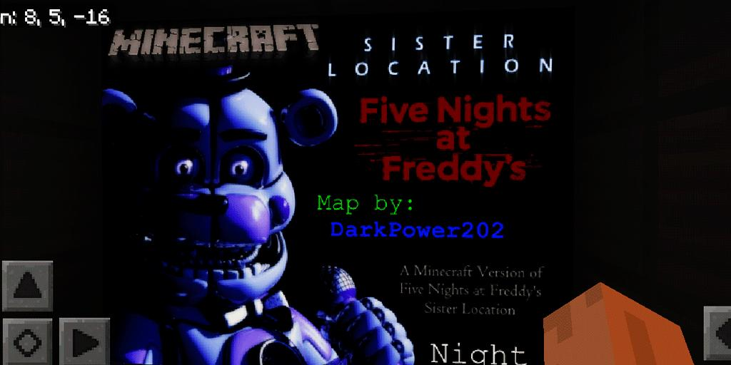 Five Nights at Freddy's: Night 1  Map for MCPE for Android
