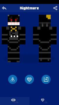 Skins for Minecraft PE - FNAF screenshot 5
