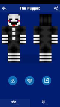 Skins for Minecraft PE - FNAF screenshot 6