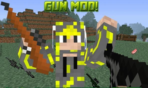 Gun Mod For MCPE Pe 0.17.0 screenshot 9