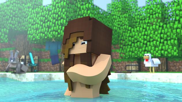 Hot Skins For Minecraft PE V APK डउनलड एडरयड - Hot skins fur minecraft