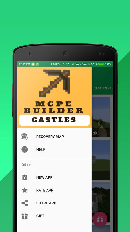 Castle builder for minecraft pe for android apk download castle builder for minecraft pe captura de pantalla 5 malvernweather Images