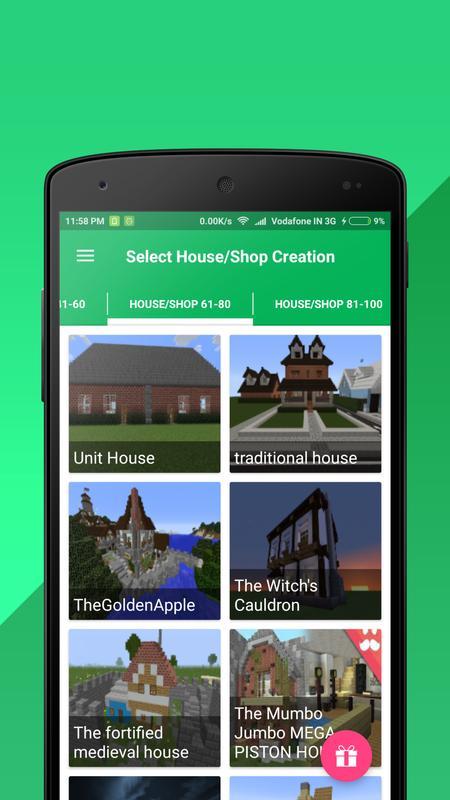 House shop builder for minecraft pe for android apk download house shop builder for minecraft pe captura de pantalla 3 malvernweather Choice Image