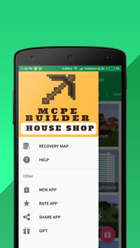 House shop builder for minecraft pe for android apk download house shop builder for minecraft pe poster malvernweather Gallery