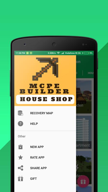 House shop builder for minecraft pe for android apk download house shop builder for minecraft pe poster malvernweather Choice Image