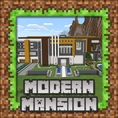 Modern Mansion Maps for Minecraft PE icon