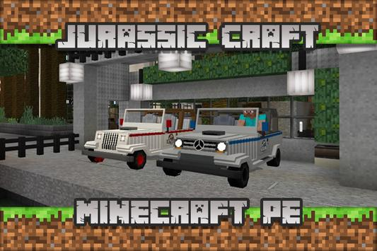 Jurassic Craft Maps for Minecraft PE poster