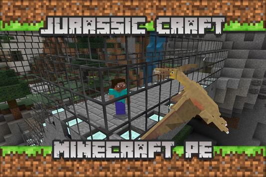 Jurassic Craft Maps for Minecraft PE apk screenshot