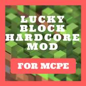 Lucky Block Hardcore Mod for Minecraft PE icon