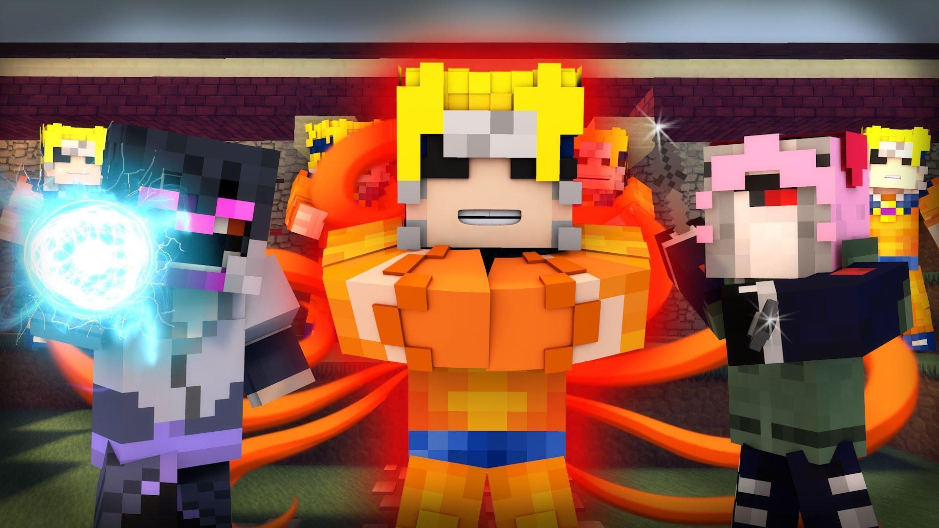 Skins for MinecraftPE - Naruto para Android - APK Baixar