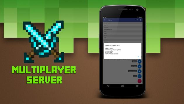 Multiplayer for Minecraft PE poster