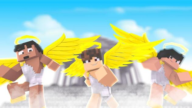 Angel Skins for Minecraft PE poster