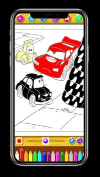 Mcqueen Coloring Pages screenshot 3