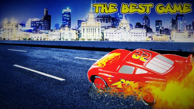 Mcqueen Lightning Sport Car poster