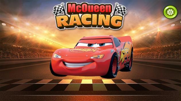 Mcqueen Lightning Racing Game poster