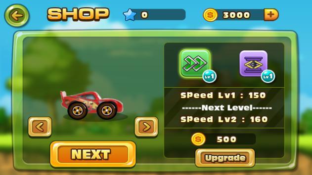 Mcqueen Lightning Racing Game screenshot 1
