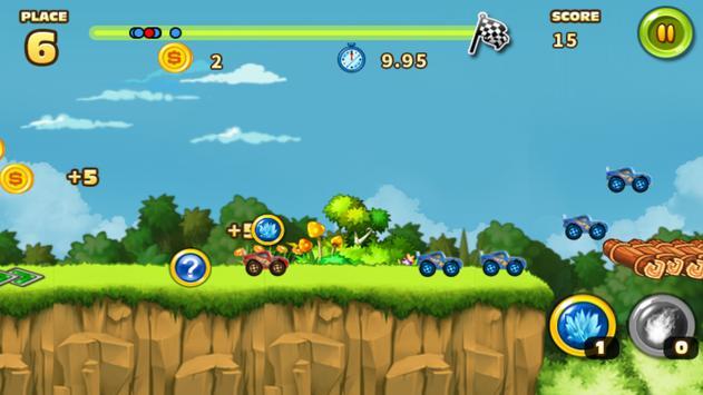 Mcqueen Lightning Racing Game screenshot 3