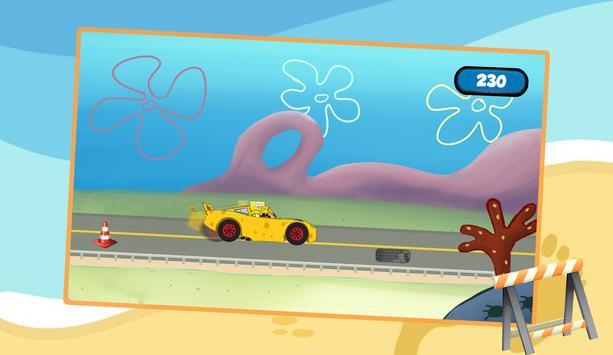 Spongbob McQueen Racing apk screenshot