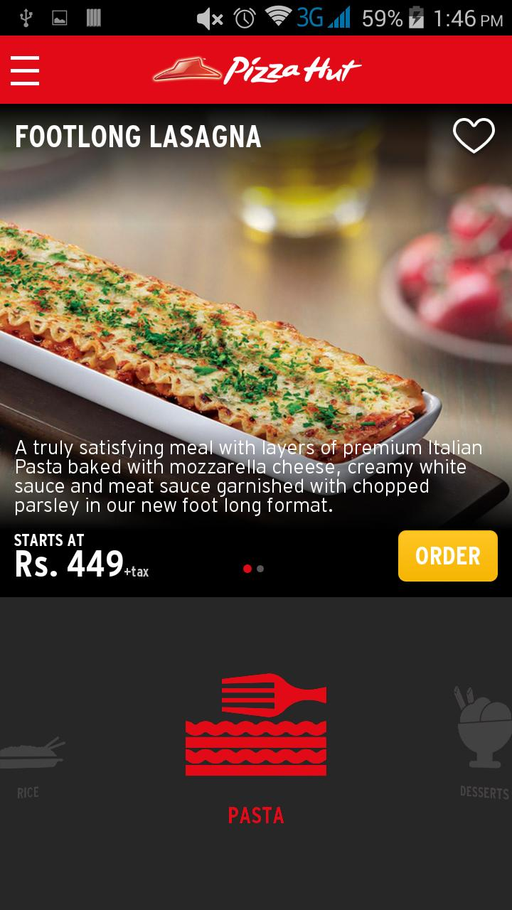 Pizza Hut Pakistan For Android Apk Download