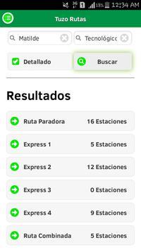 Tuzo Rutas screenshot 1