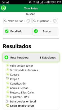 Tuzo Rutas screenshot 2