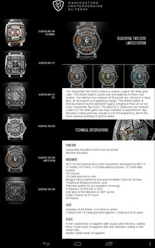 MCT Watches apk screenshot