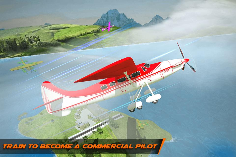 Flight Pilot Plane Landing Flight Simulator Game for Android
