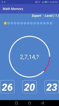 Math Memory apk screenshot