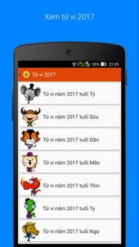 Tử vi 2017 - Xem tử vi 2017 apk screenshot