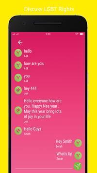 Secret LGBT Community Chat screenshot 2