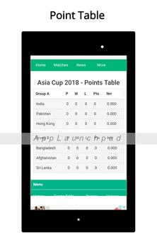 Asia Cup 2018 screenshot 13