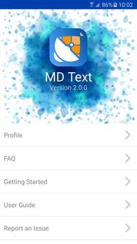 MD Text apk screenshot